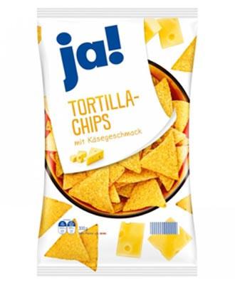 Tortilla-Chips mit Käsegeschmack