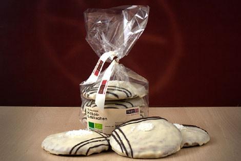 Bio Elisen-Lebkuchen Kokos frisch gebacken
