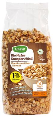 Bio Hafer Knusper Müsli