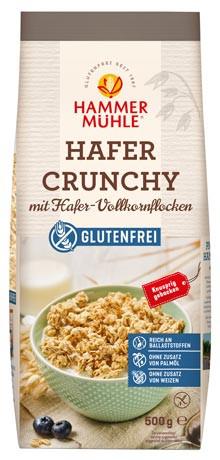 Hafer Crunchy mit Hafer-Vollkornflocken