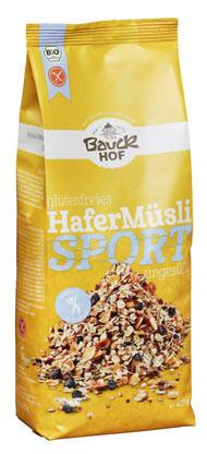 Glutenfreies Hafermüsli Sport