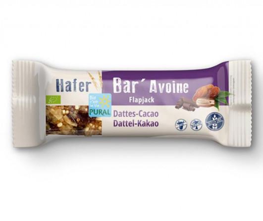 Hafer Bar Riegel Dattel Kakao