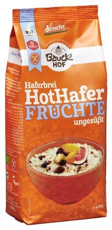 Hot Hafer Haferbrei Früchte