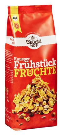 Knusper Frühstück Früchte