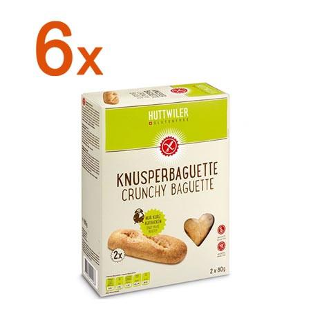 Sparpaket 6 x Knusperbaguette