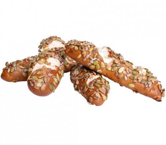 Körner-Laugenspitz 2 Stück frisch gebacken