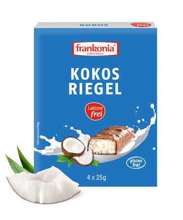 Kokos Riegel laktosefrei