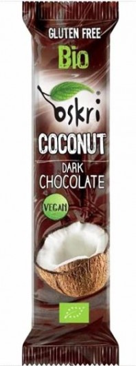 Bio Kokosriegel mit Zartbitterschokolade