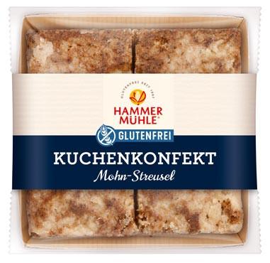 Kuchenkonfekt Mohn-Streusel