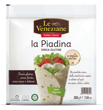 Le Veneziane la Piadina Wraps