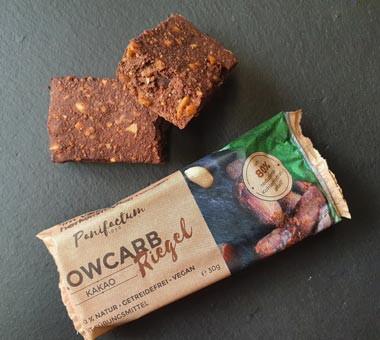 Low-Carb Kakao Riegel