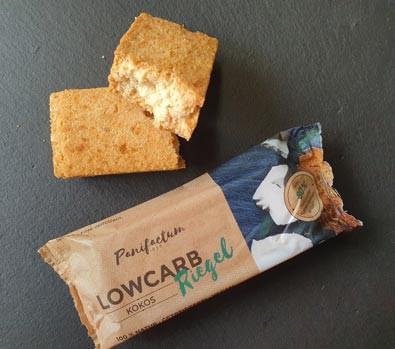 Low-Carb Kokos Riegel