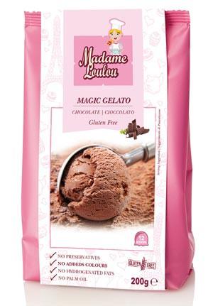 Eispulver Magic Gelato Schokolade