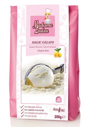 Eispulver Magic Gelato Zitrone
