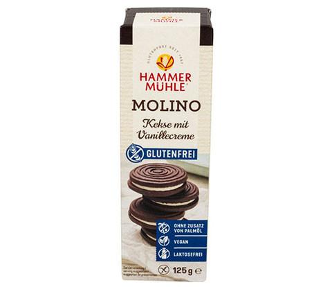 Molino Kekse mit Vanillecreme