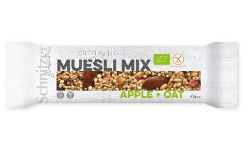 Bio Müsli Mix Riegel Apple + Oat