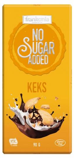 No Sugar Added Keks Schokolade