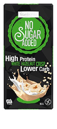 No Sugar Added High Protein Haselnuss Schokolade