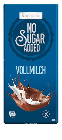 No Sugar Added Vollmilch Schokolade