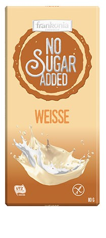 No Sugar Added Weisse Schokolade