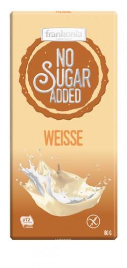 No Sugar Added Weisse Schokolade