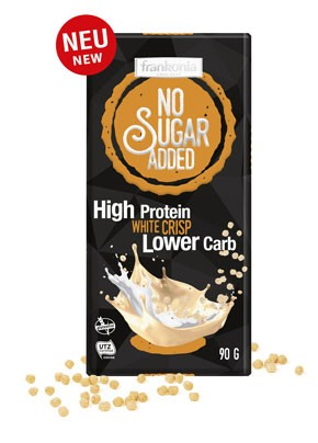 No Sugar Added High Protein White Crisp