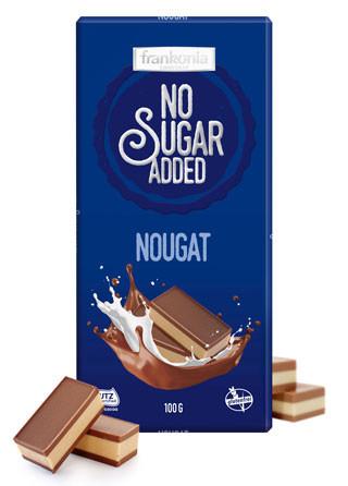 No Sugar Added Nougat Schokolade