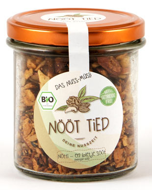 Bio Nuss-Müsli weniger süß