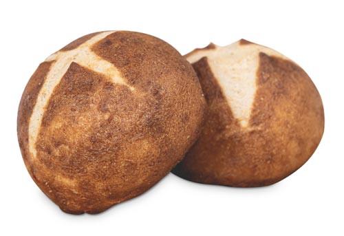 Laugenbrötchen 2 Stück frisch gebacken