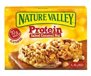 Protein Salted Caramel Nut Riegel