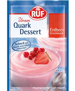 Quark Dessert Erdbeer Geschmack