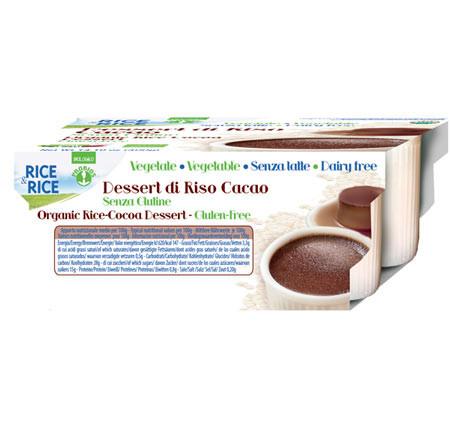 Reisdessert mit Cacao 4 Stück