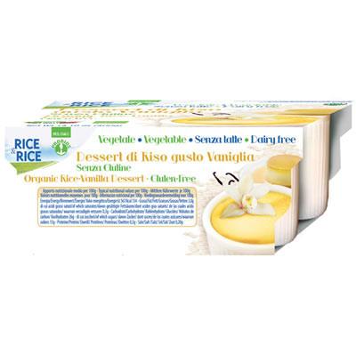 Reisdessert mit Vanille 4 Stück