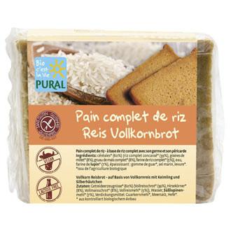 Glutenfreies Reis Vollkornbrot
