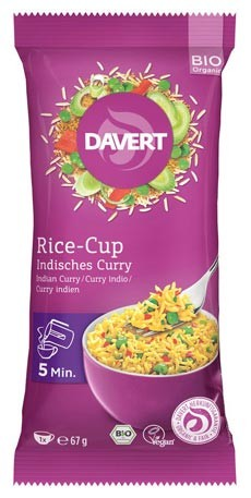 Rice-Cup Indisches Curry