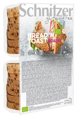 Bio Bread'n Toast grainy