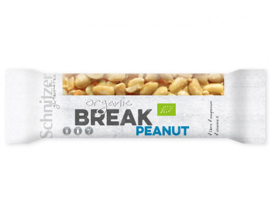 Bio Break Erdnuss Riegel
