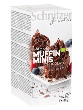 Bio Muffin Minis Chocolate