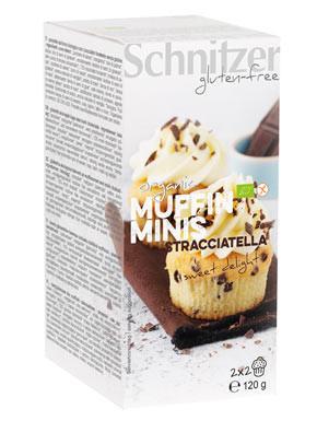 Bio Muffin Minis Stracciatella