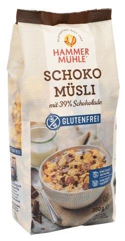Schoko Müsli mit 39% Schokolade