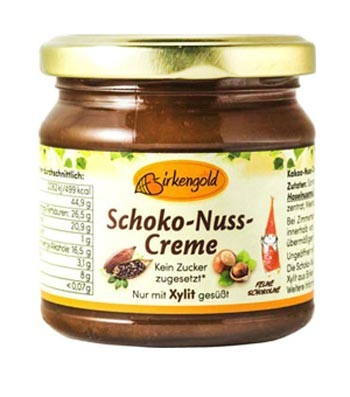 Schoko Nuss Creme ohne Zuckerzusatz