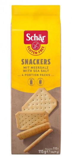 Snackers mit Meersalz