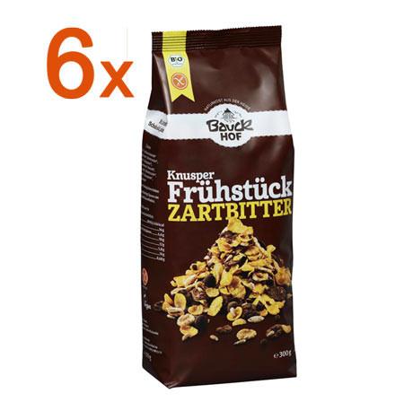 Sparpaket 6 x Knusper Frühstück Zartbitter
