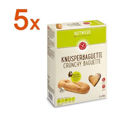Sparpaket 5 x Knusperbaguette