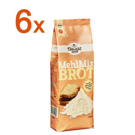 Sparpaket 6 x Mehl Mix Brot