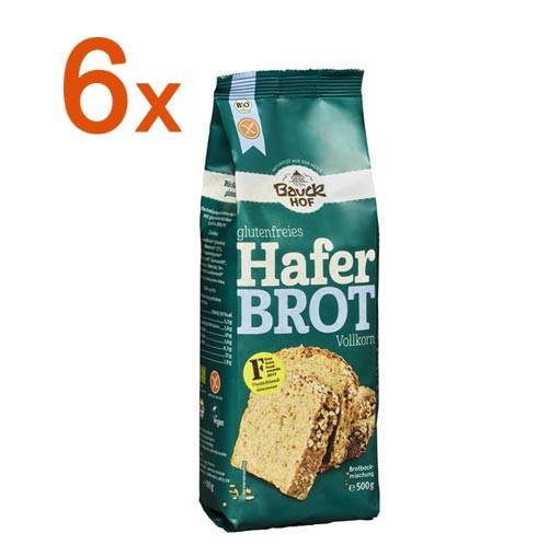 Sparpaket 6 x Glutenfreies Haferbrot Vollkorn