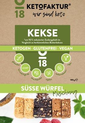 Kekse No18 Süsse Würfel Mischung