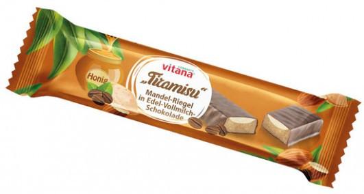 Tiramisu-Riegel in Vollmilchschokolade