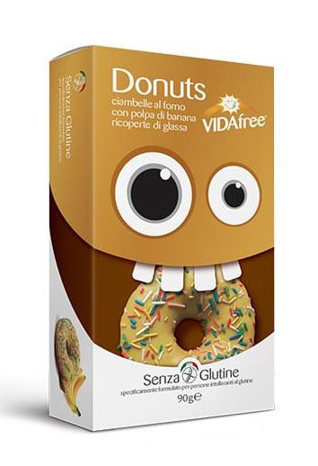 Glutenfreie Donuts Banane
