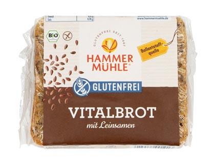 Bio Vitalbrot mit Leinsamen